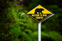 """Welcome to Bear Country"" signs as Bristol Bears start to use their new almost completed Training centre - Rogan/JMP - 08/07/2020 - RUGBY UNION - Beggar Bush Lane - Bristol, England."