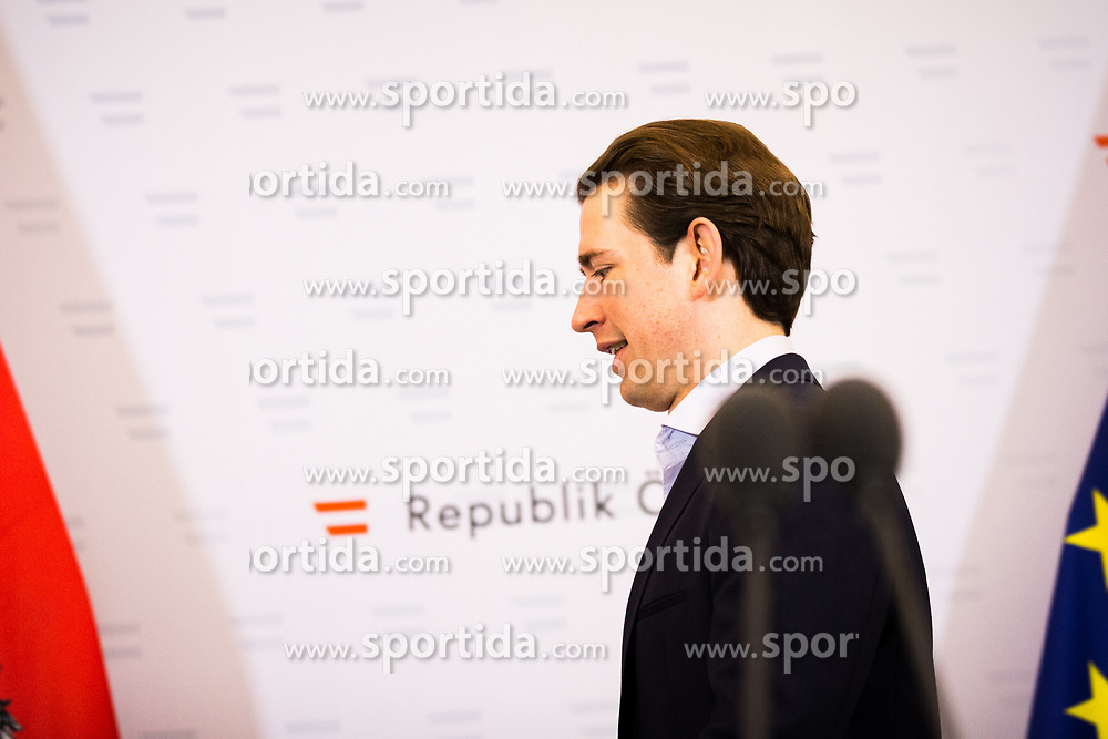 15.01.2020, Bundeskanzleramt, Wien, AUT, Sitzung des Ministerrats, im Bild Sebastian Kurz (OeVP)// cabinet meeting at the federal chancellery in Vienna, Austria on 2020/01/15. EXPA Pictures © 2020, PhotoCredit: EXPA/ Florian Schroetter