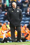 Picture by Paul Chesterton/Focus Images Ltd.  07904 640267.21/04/12.Blackburn Manager Steve Kean during the Barclays Premier League match at Ewood Park Stadium, Blackburn