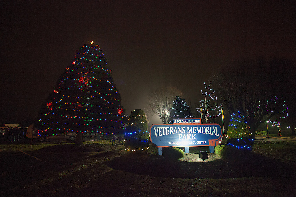 Gloucester Township Third Annual Tree Lighting  at Veterans Park in Gloucester Township, NJ on Sunday December 16, 2012. (photo / Mat Boyle)