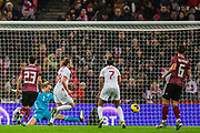 GOAL: Ellen White (England) scores a goal to give England an equaliser 1-1 during the International Friendly match between England Women and Germany Women at Wembley Stadium, London, England on 9 November 2019.
