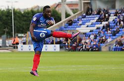 Junior Morias of Peterborough United scores his first goal of the game to make it 1-1 - Mandatory by-line: Joe Dent/JMP - 23/09/2017 - FOOTBALL - ABAX Stadium - Peterborough, England - Peterborough United v Wigan Athletic - Sky Bet League One