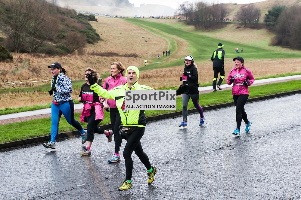 Action from the PureGym Great Edinburgh Winter Run.(c)  Paul Roberts | SportPix.org.uk