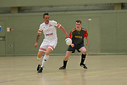 - Stars Ltd (grey) v FC Polonia Dundee (white) in the East Region Futsal Cup Final at DISC, Dundee, Photo: David Young<br /> <br />  - &copy; David Young - www.davidyoungphoto.co.uk - email: davidyoungphoto@gmail.com