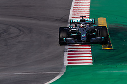 February 21, 2019 - Montmelo, BARCELONA, Spain - Lewis Hamilton of Great Britain with 44 Mercedes AMG Petronas Motorsport W10 in action during the Formula 1 2019 Pre-Season Tests at Circuit de Barcelona - Catalunya in Montmelo, Spain on February 21. (Credit Image: © AFP7 via ZUMA Wire)