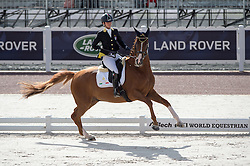 Silvia Ciarrocchi, (ITA), Royandic - Team Competition Grade IV Para Dressage - Alltech FEI World Equestrian Games™ 2014 - Normandy, France.<br /> © Hippo Foto Team - Jon Stroud <br /> 25/06/14