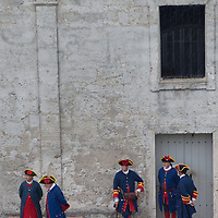 St. Augustine is the oldest continuously occupied European-established settlement and port in the continental United States. San Agustín was founded in September 1565 by the Spanish and subsequently served as the capital of Spanish Florida for two hundred years...Since the beginning of its construction in 1672, the Castillo de San Marcos has played an important role as a strategic military post in the New World. Many flags have flown during the Castillo's illustrious history, including the Spanish (1695 - 1763) the British (1763 - 1784), the Spanish again (1784 - 1821), the United States of America (1821 - 1861), the Confederate States of America (1861 - March of 1862), and finally the United States of America again (1862 - 1900).