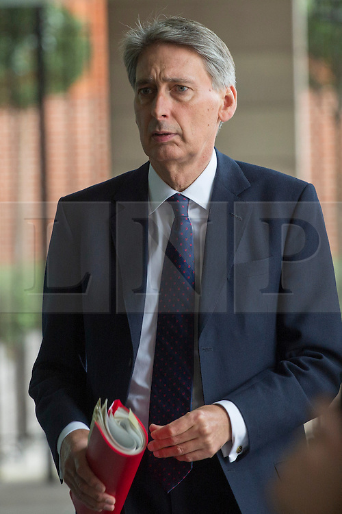 © licensed to London News Pictures. London, UK 09/10/2013. Philip Hammond, Secretary of State for Defence pictured in central London on Wednesday, 09 October 2013. Photo credit: Tolga Akmen/LNP