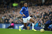 Everton midfielder Alex Iwobi (17) during the Premier League match between Everton and Chelsea at Goodison Park, Liverpool, England on 7 December 2019.
