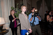 JADE PARFITT, Dinner to mark 50 years with Vogue for David Bailey, hosted by Alexandra Shulman. Claridge's. London. 11 May 2010 *** Local Caption *** -DO NOT ARCHIVE-© Copyright Photograph by Dafydd Jones. 248 Clapham Rd. London SW9 0PZ. Tel 0207 820 0771. www.dafjones.com.<br /> JADE PARFITT, Dinner to mark 50 years with Vogue for David Bailey, hosted by Alexandra Shulman. Claridge's. London. 11 May 2010