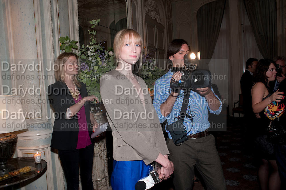 JADE PARFITT, Dinner to mark 50 years with Vogue for David Bailey, hosted by Alexandra Shulman. Claridge's. London. 11 May 2010 *** Local Caption *** -DO NOT ARCHIVE-© Copyright Photograph by Dafydd Jones. 248 Clapham Rd. London SW9 0PZ. Tel 0207 820 0771. www.dafjones.com.<br /> JADE PARFITT, Dinner to mark 50 years with Vogue for David Bailey, hosted by Alexandra Shulman. Claridge's. London. 11 May 2010