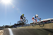 #5 (NYHAUG Tory) CAN at the 2013 UCI BMX Supercross World Cup in Chula Vista