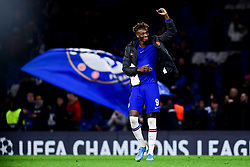 Tammy Abraham of Chelsea after the final whistle of the match  - Mandatory by-line: Ryan Hiscott/JMP - 10/12/2019 - FOOTBALL - Stamford Bridge - London, England - Chelsea v Lille - UEFA Champions League group stage