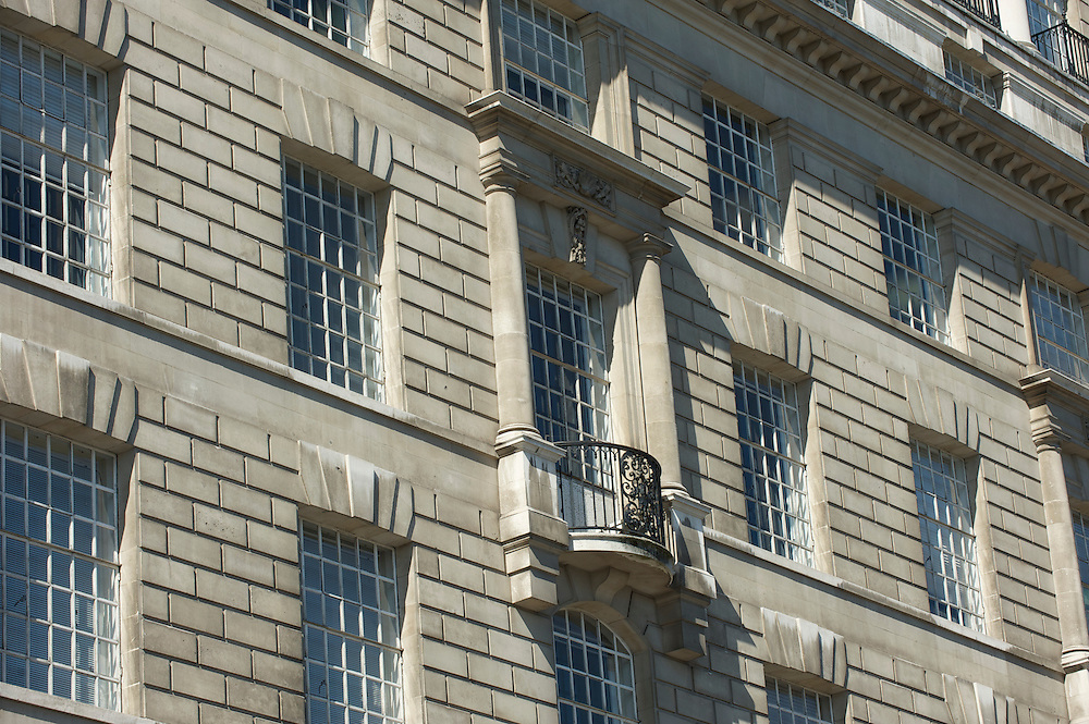 Mi5 building exterior.<br /> Thames House was built in 1930 and is on Millbank, Westminster, London.