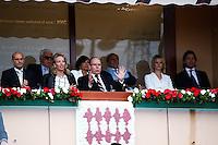 Prince ALBERT De Monaco - 19.04.2015 - Tournoi de Monte Carlo 2015 - Masters 1000 <br />Photo : Serge Haouzi / Icon Sport