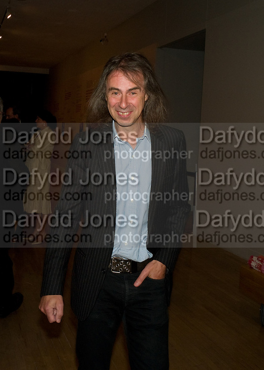 Ivor Braka, Francis Bacon opening private view and dinner. Tate Britain. 8 September 2008 *** Local Caption *** -DO NOT ARCHIVE-© Copyright Photograph by Dafydd Jones. 248 Clapham Rd. London SW9 0PZ. Tel 0207 820 0771. www.dafjones.com.