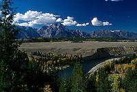 The Grand Tetons and the Snake River, WY