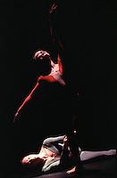 "Oxana Panchenko and Michael Nunn in Christopher Wheeldon's ""Mesmerics"". George Piper Dances."