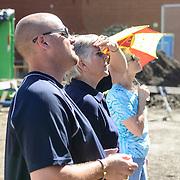 Canada, Edmonton. Aug/25/2013. McKernan Community League building renovation project. Annual Summer BBQ.