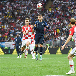 Antoine Griezmann of France during the World Cup Final match between France and Croatia at Luzhniki Stadium on July 15, 2018 in Moscow, Russia. (Photo by Anthony Dibon/Icon Sport)
