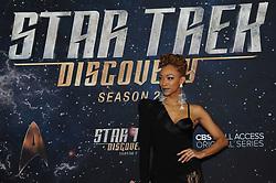 NEW YORK, NY - JANUARY 17: Sonequa Martin-Green at the Star Trek: Discovery Season 2 Premiere at Conrad in New York City on January 17, 2019. 17 Jan 2019 Pictured: Sonequa Martin-Green. Photo credit: MPIJP/Capital Pictures / MEGA TheMegaAgency.com +1 888 505 6342