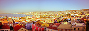 Panoramic view of Valparaiso, Chile