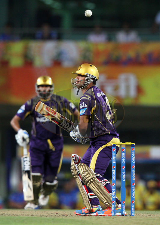 Piyush Chawla of the Kolkata Knight Riders during match 21 of the Pepsi Indian Premier League Season 2014 between the Chennai Superkings and the Kolkata Knight Riders  held at the JSCA International Cricket Stadium, Ranch, India on the 2nd May  2014<br /> <br /> Photo by Deepak Malik / IPL / SPORTZPICS<br /> <br /> <br /> <br /> Image use subject to terms and conditions which can be found here:  http://sportzpics.photoshelter.com/gallery/Pepsi-IPL-Image-terms-and-conditions/G00004VW1IVJ.gB0/C0000TScjhBM6ikg