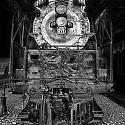"""Steam engine """"Northern 833"""" in Ogden, UT."""