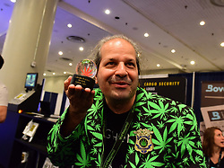 June 16, 2017 - New York City, New York, United States - The Jacob K Javits Convention Center in Manhattan hosted the 4th Annual World Cannabis World Congress & Business Exposition, bringing together entrepreneurs, manufacturers, inventors, scientists, political & social leaders to explore the world of legalized cannabis & hemp-related businesses. (Credit Image: © Andy Katz/Pacific Press via ZUMA Wire)