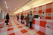 Linz, Cultural Capital of Europe 2009. Linz09 Info Center at the Hauptplatz (main square).