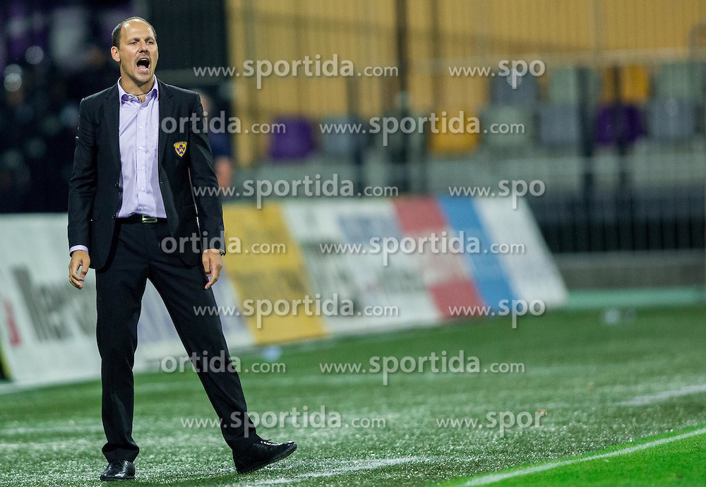 Ante Simundza, head coach of Maribor during 2nd Leg football match between NK Maribor and HSK Zrinjski Mostar in Second Qualifying Round of UEFA Champions League 2014/15, on July 23, 2014 in Stadium Ljudski vrt, Maribor, Slovenia. Photo by Vid Ponikvar / Sportida.com