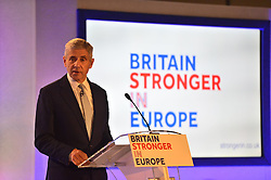 © Licensed to London News Pictures. 12/10/2015. London, UK. The launch of the Britain Stronger in Europe campaign at the Truman Building in London. The campaign is being by led by Former M&S chairman, Lord Stuart Rose. Photo credit: Ben Cawthra/LNP