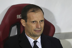 December 15, 2018 - Turin, Piedmont, Italy - Massimiliano Allegri, head coach of Juventus FC, during the Serie A football match between Torino FC and Juventus FC at Olympic Grande Torino Stadium on December 15, 2018 in Turin, Italy. Torino lost 0-1 against Juventus. (Credit Image: © Massimiliano Ferraro/NurPhoto via ZUMA Press)