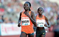 Friidrett ,  11. juni 2015 , Diamond League , Bislett Games , Oslo<br />  Atheltics<br /> 5000 m<br /> Magdalene Masai , KEN