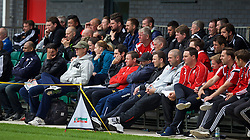 NEWPORT, WALES - Sunday, May 31, 2015: Delegates during the Football Association of Wales' National Coaches Conference 2015 at Dragon Park FAW National Development Centre. (Pic by David Rawcliffe/Propaganda)