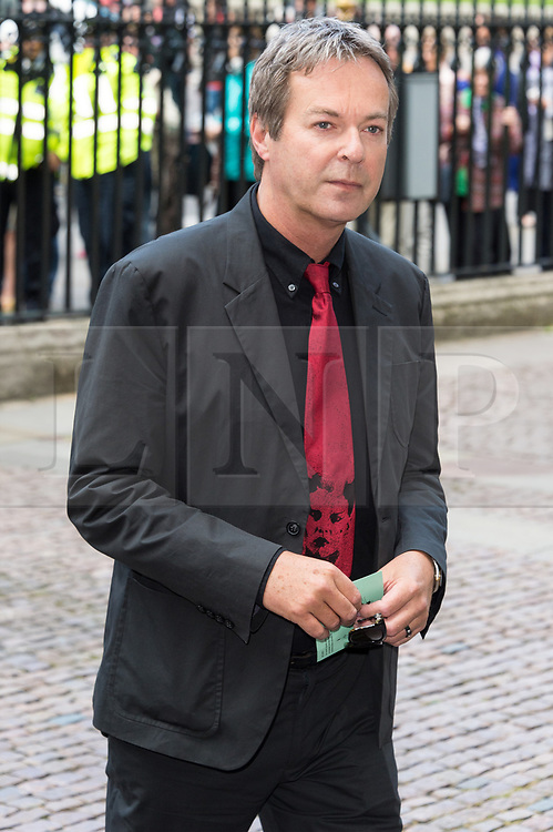© Licensed to London News Pictures. 07/06/2017.  London, UK. JULIAN CLARY attends the Memorial Service of RONNIE CORBETT at Westminster Abbey. The entertainer, comedian, actor, writer, and broadcaster was best known for his long association with Ronnie Barker in the BBC television comedy sketch show The Two Ronnies. Photo credit: Ray Tang/LNP