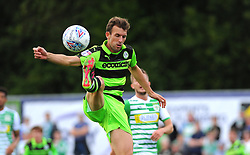 Christian Doidge of Forest Green Rovers in action - Mandatory by-line: Nizaam Jones/JMP - 19/08/2017 - FOOTBALL - New Lawn Stadium - Nailsworth, England - Forest Green Rovers v Yeovil Town - Sky Bet League Two