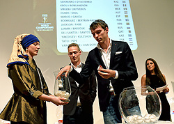 30-03-2015 NED: FIVB Drawing WCH Beach Volleyball, The Hague<br /> The Drawing of Lots for the FIVB Beach Volleyball World Championships The Netherlands 2015 will take place at the Mauritshuis art museum / Visman/Keemink