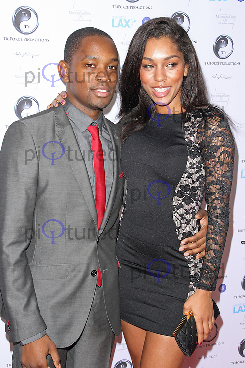 Aml Ameen & Portia Freno, TriForce Short Film Festival, BAFTA 195 Piccadilly, London UK, 08 December 2013, Photo by Brett D. Cove