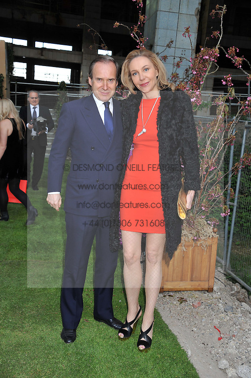 SIMON DE PURY and  MICHAELA NEUMEISTER at Gabrielle's Gala an annual fundraising evening in aid of Gabrielle's Angel Foundation for Cancer Research held at Battersea Power Station, London on 2nd May 2013.