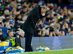 Everton manager Ronald Koeman shows a look of dejection - Mandatory by-line: Matt McNulty/JMP - 19/11/2016 - FOOTBALL - Goodison Park - Liverpool, England - Everton v Swansea City - Premier League