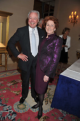 LADY ELIZABETH ANSON and MR DUNCAN McLAREN at Ambassador Earle Mack's 60's reunion party held at The Ritz Hotel, London on 18th June 2012.