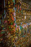 Wall of gum in Post Alley - Seattle, WA