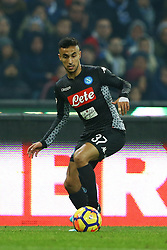December 1, 2017 - Naples, Italy - Adam Ounas of Napoli during the Serie A match between SSC Napoli and Juventus at Stadio San Paolo on December 1, 2017 in Naples, Italy. (Credit Image: © Matteo Ciambelli/NurPhoto via ZUMA Press)