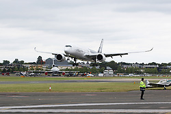 Airbus A350, Farnborough International Airshow, London Farnborough Airport UK, 15 July 2016, Photo by Richard Goldschmidt