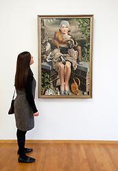 Portrait of Mrs M Bilijstra van dr Meulen by Carel Wilink at Gemeentemuseum in The Hague, Den Haag,  Netherlands
