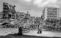 Palestinian Refugee Camps of Sabra and Shatila, Beirut, Lebanon 1998.