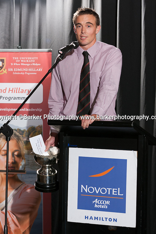 Northern Districts Cricket Awards, Player of the Year Graeme Aldridge, Tainui Novotel Hotel, Friday 8 April 2011, Hamilton, New Zealand.  Photo: Stephen Barker/Barker Photography/PHOTOSPORT  ©Barker Photography www.barkerphotography.co.nz