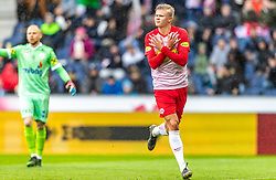12.05.2019, Red Bull Arena, Salzburg, AUT, 1. FBL, FC Red Bull Salzburg vs LASK, Meistergruppe/Qualifikationsgruppe 30. Spieltag, im Bild Torjubel Salzburg nach dem 1:0 durch Erling Haaland (FC Red Bull Salzburg) // during the tipico Bundesliga master group/qualification group 30. Spieltagth round match between FC Red Bull Salzburg and LASK at the Red Bull Arena in Salzburg, Austria on 2019/05/12. EXPA Pictures © 2019, PhotoCredit: EXPA/ JFK