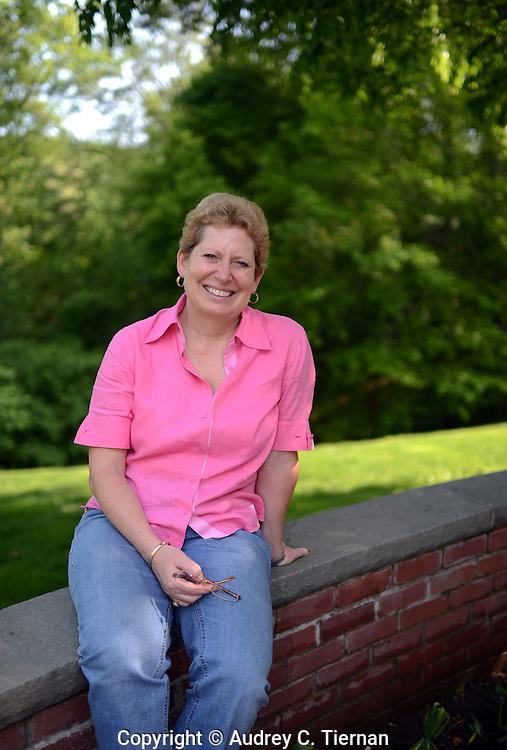 Mill Neck, NY:  Wednesday, May 16, 2012-- Susan Altamore Carusi, a La Salle University alumna.     © Audrey C. Tiernan